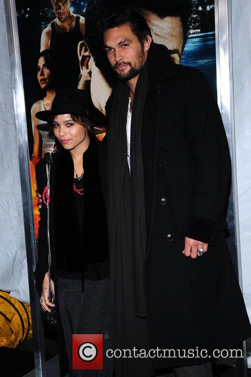 Zoe Kravitz and Jason Momoa 8