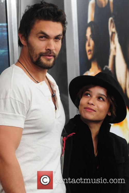 Zoe Kravitz and Jason Momoa 1