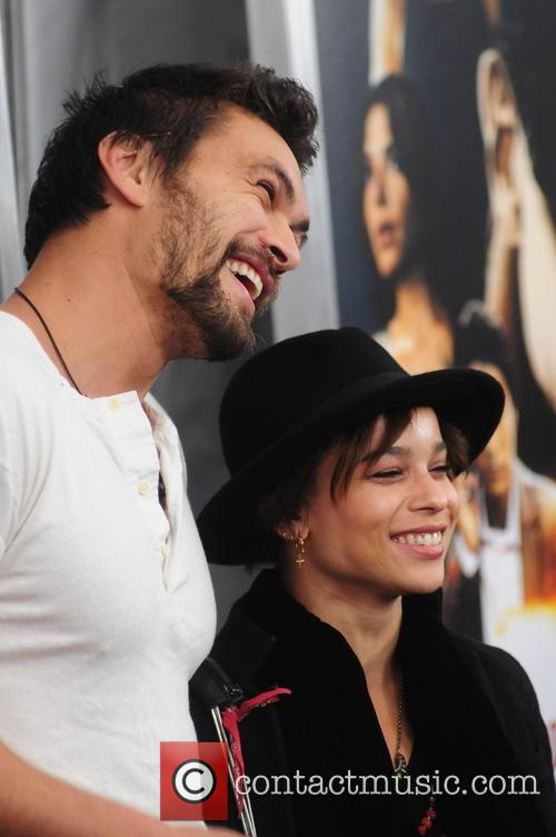Zoe Kravitz and Jason Momoa 9