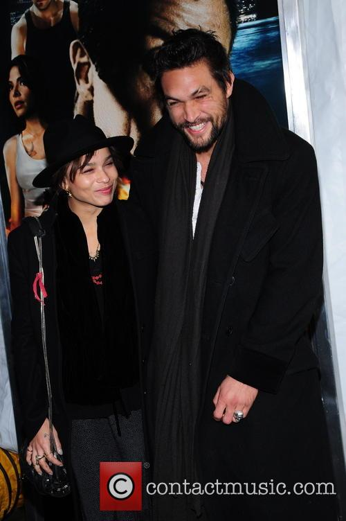 Zoe Kravitz and Jason Momoa 11