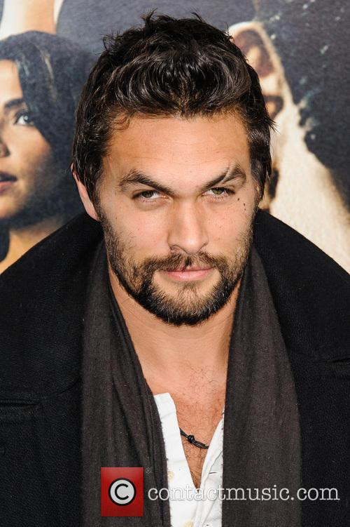 Jason Momoa at New York premiere of 'Bullet to the Head'