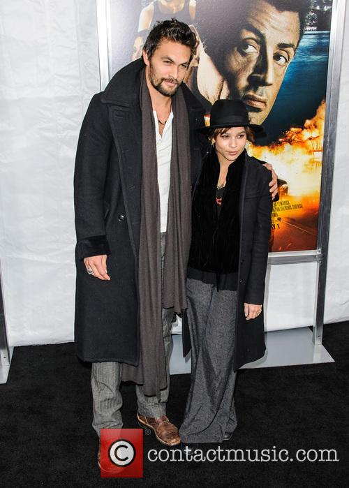 Jason Momoa and Zoe Kravitz 11
