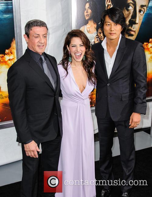 Sylvester Stallone, Sarah Shahi and Sung Kang 8