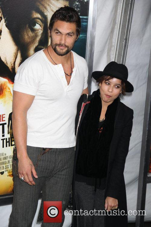 zoe kravitz jason momoa new york premiere of bullet 3475132