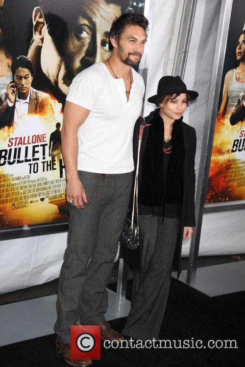 Zoe Kravitz and Jason Momoa 1