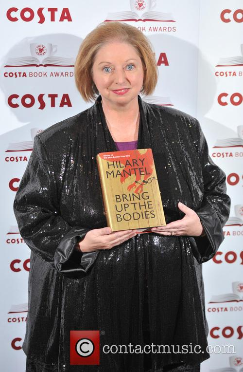 Costa First Novel Award Winner and Hilary Mantel Author Of 'bring Up The Bodies' 5
