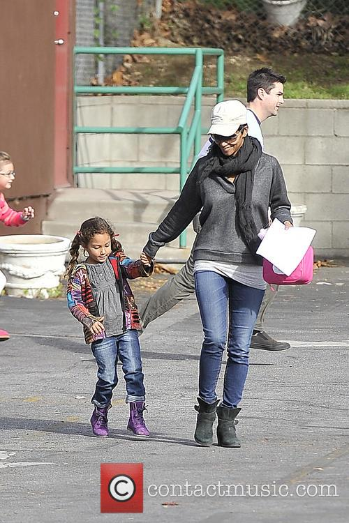 Halle Berry and Nahla Aubry 3