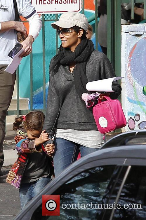 Halle Berry and Nahla Aubry 13