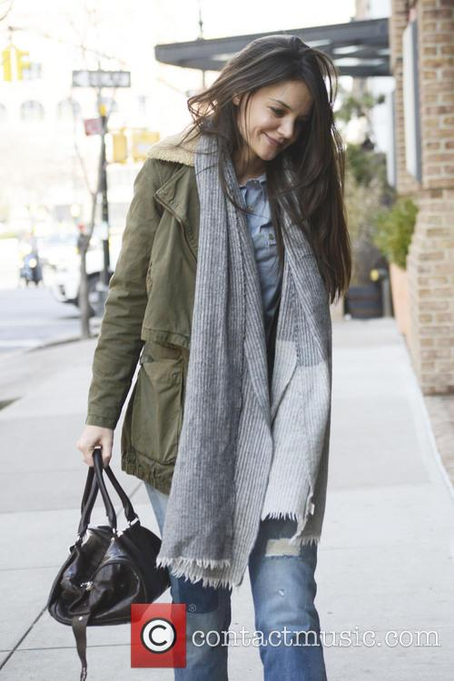 Katie Holmes, New York