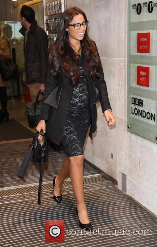 Celebrities at the BBC Radio 1 studios