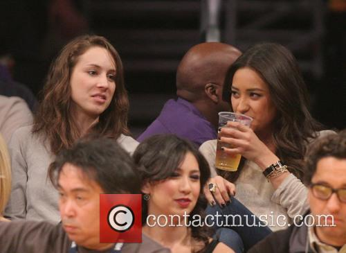 Troian Bellisario and Shay Mitchell 1