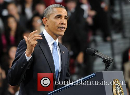 U.S. President Barack Obama delivers a speech on immigration reform