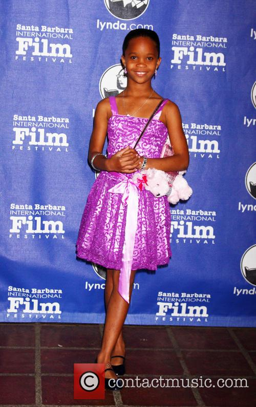 Quvenzhane Wallis at Arlington Theater Annual Santa Barbara International