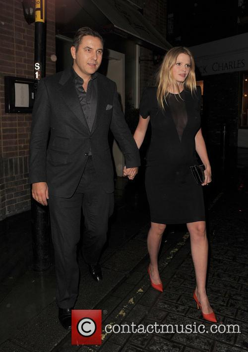 David Walliams and Lara Stone 10