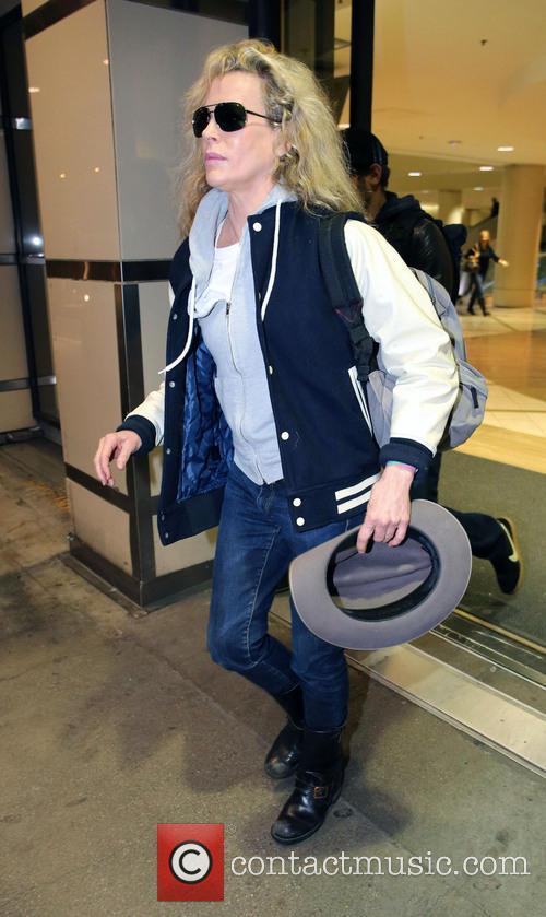 Kim Basinger At LAX