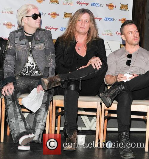 John 5, Sebastian Bach and Greg Puciato 2