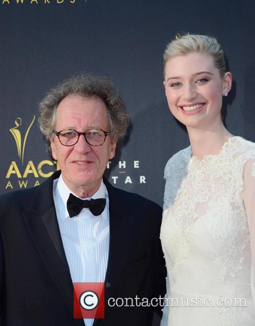 Jeffery Rush and elizbeth debicki 1