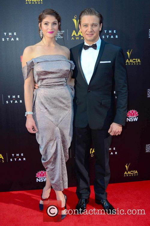 Jermery Renner and Gemma Arterton 2