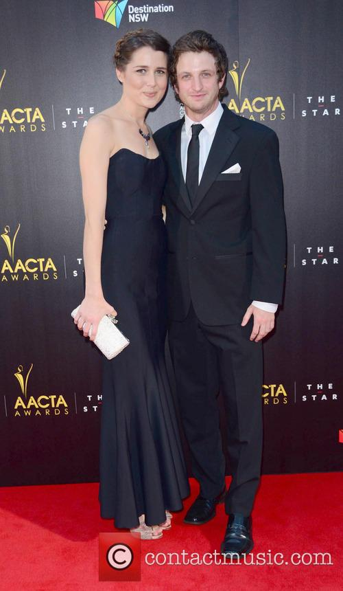 Aaron Glenare : Heather Maltman Aacta Award Ceremony Red Carpe 6