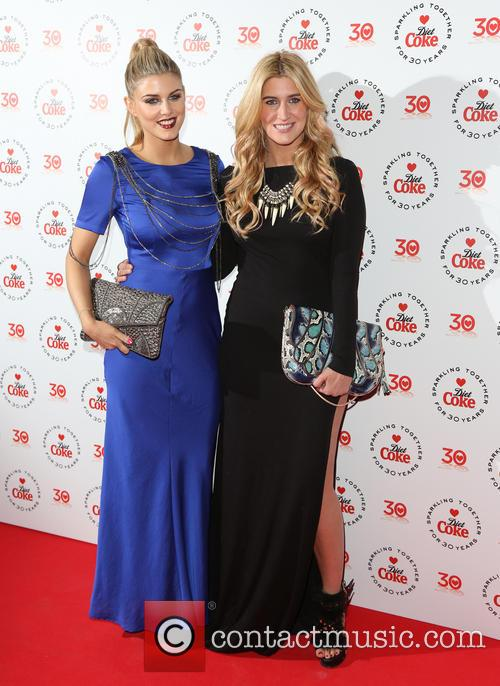 Ashley James, Francesca Hull and Cheska Hull 2