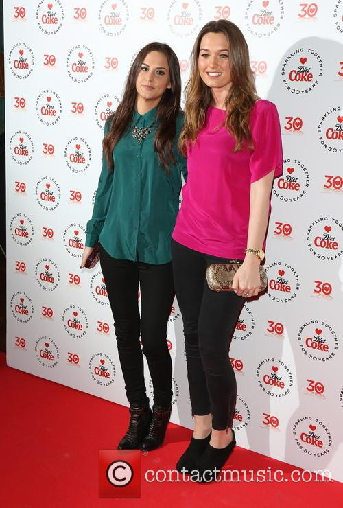 Lucy Watson and Guest 2