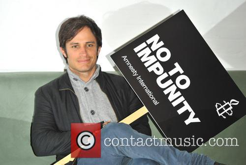 Gael Garcia Bernal launches Amnesty International's call to...