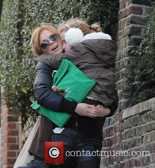 Geri Halliwell and Bluebell 4