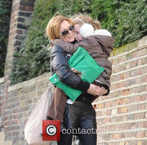 Geri Halliwell and Bluebell 8