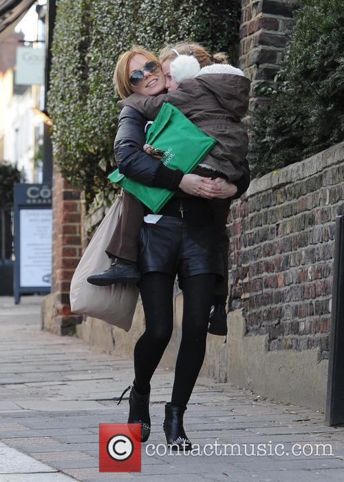 Geri Halliwell and Bluebell 9