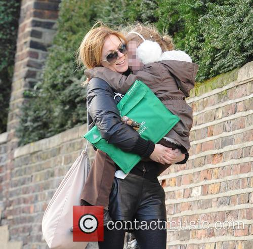 Geri Halliwell and Bluebell 10