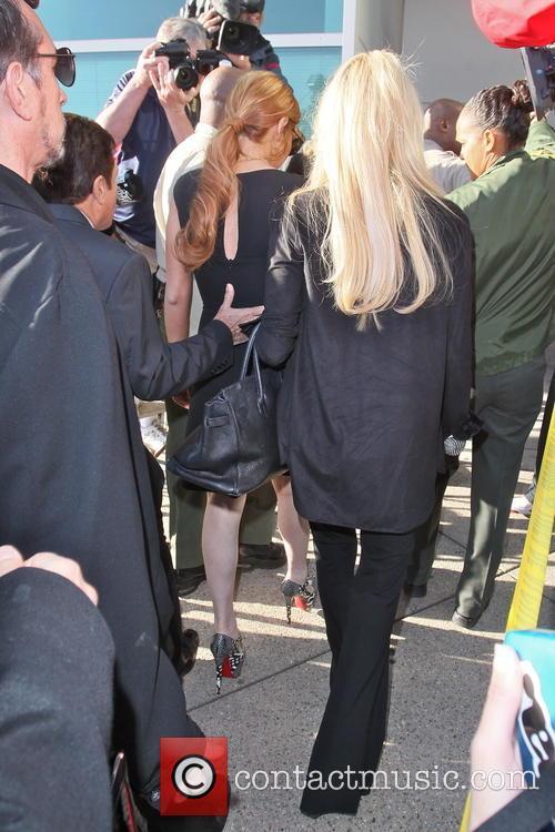 Lindsay Lohan and Dina Lohan 10