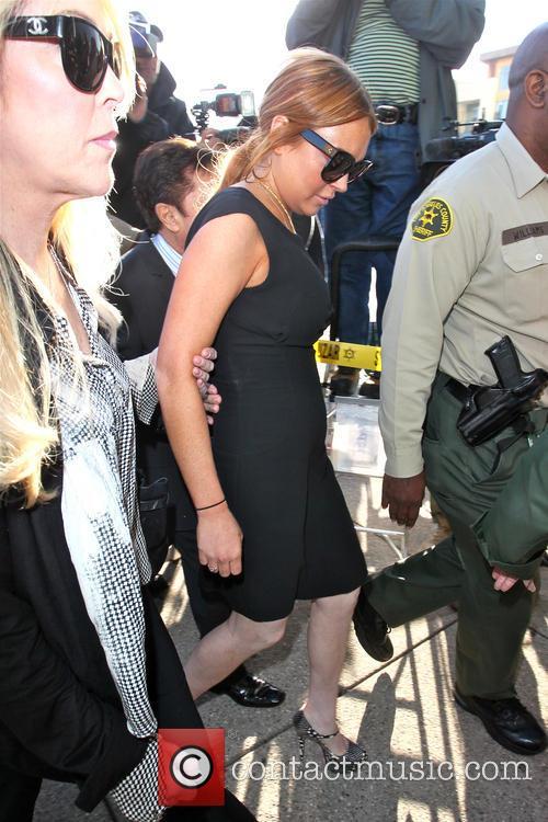 Lindsay Lohan and Dina Lohan 11