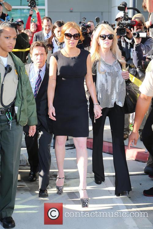 Mark Heller, Lindsay Lohan and Dina Lohan 3