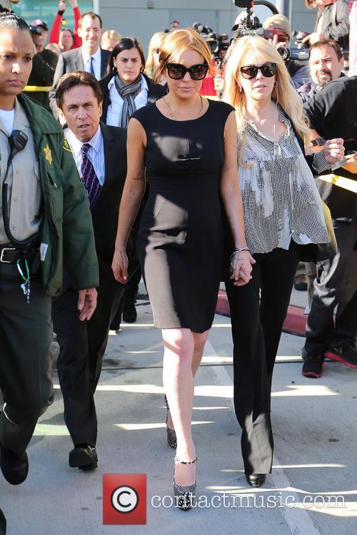 Mark Heller, Lindsay Lohan and Dina Lohan 1