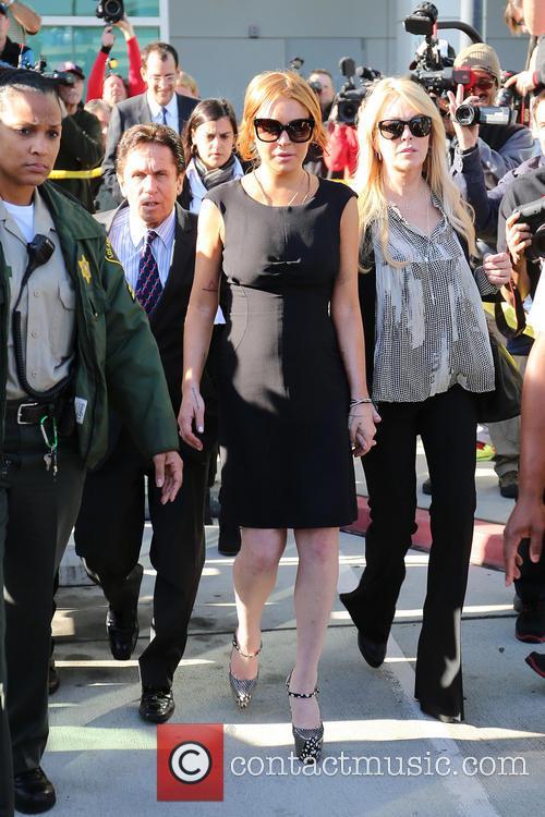 Mark Heller, Lindsay Lohan and Dina Lohan 7