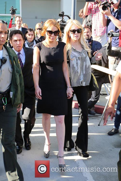 Mark Heller, Lindsay Lohan and Dina Lohan 8