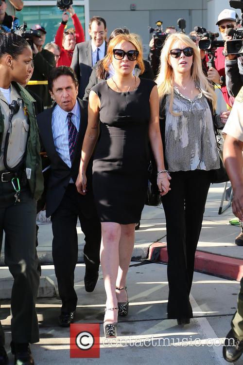 Mark Heller, Lindsay Lohan and Dina Lohan 9