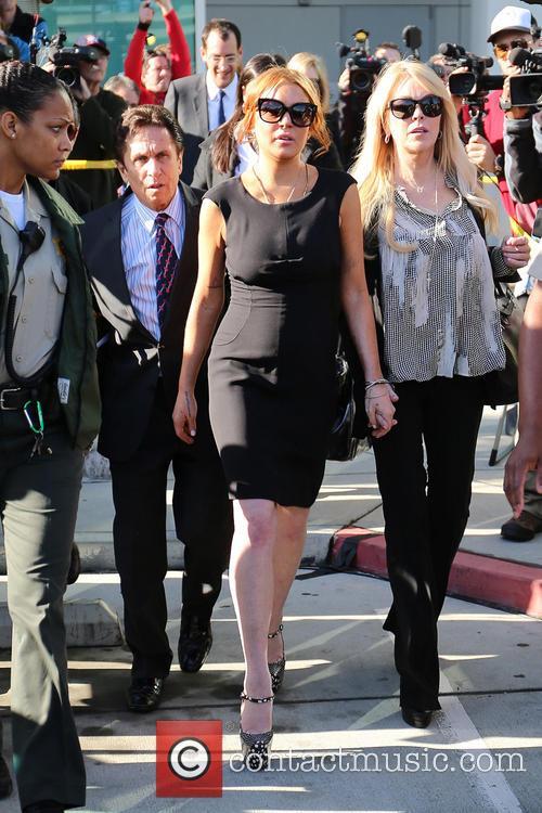Mark Heller, Lindsay Lohan and Dina Lohan 10