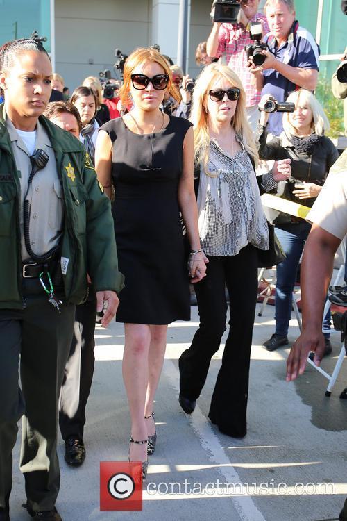 Mark Heller, Lindsay Lohan and Dina Lohan 11