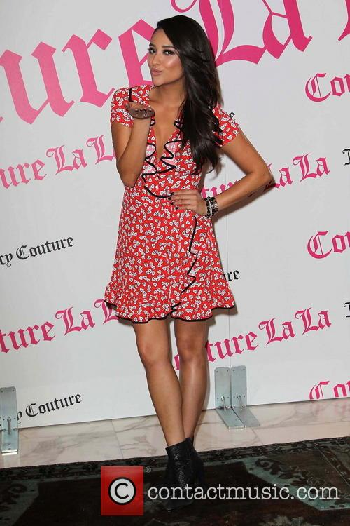 Shay Mitchell at the launch of Juicy Couture's...