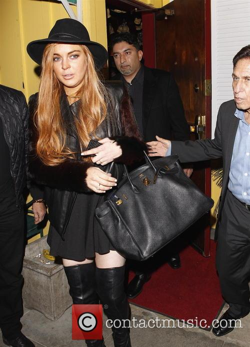 Lindsay Lohan and Mark Heller 8