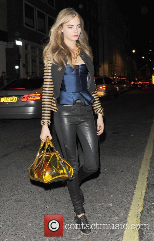 Cara Delevingne, The Groucho Club