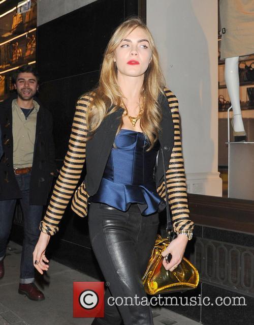 cara delevingne celebrities leaving groucho club 3477304