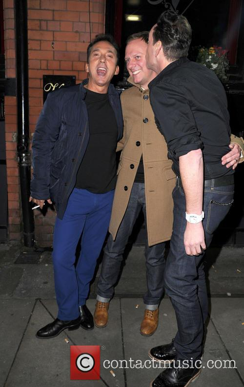 Bruno Tonioli, Antony Cotton and Craig Revel Horwood 2