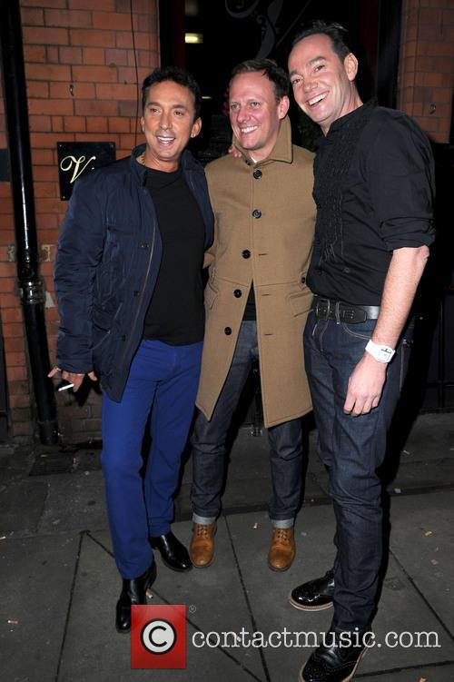 Bruno Tonioli, Antony Cotton and Craig Revel Horwood 1