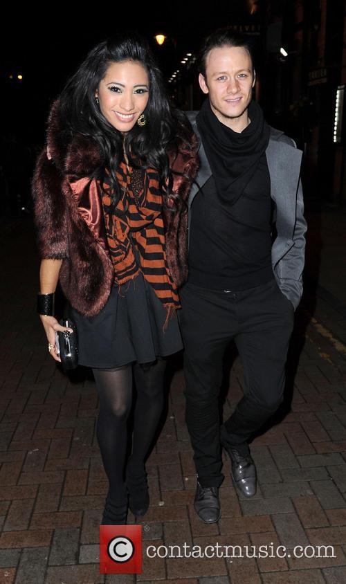 Karen Hauer and Nicky Byrne 2