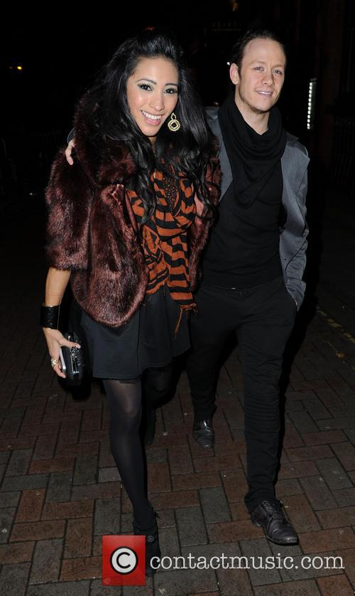 Karen Hauer and Nicky Byrne 1