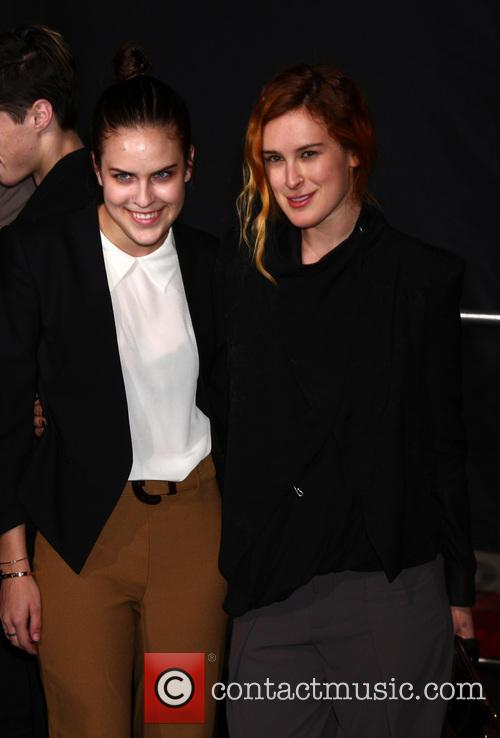 Tallulah Belle Willis and Rumer Willis 2