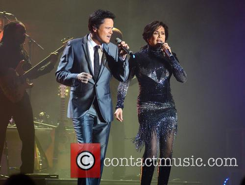 Donny and Marie Osmond at The O2