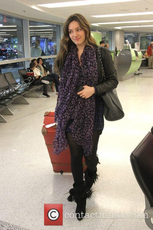 Kelly Brook at Miami International Airport (MIA)
